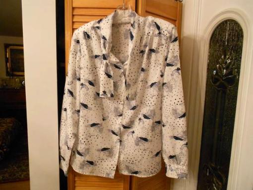 New womans blouse, Medium, Cotton 100% - $10