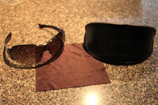 Gucci Sunglasses 1855/S used Brown - $50
