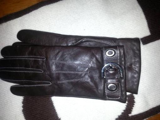 Coach gloves and Scarf - $75