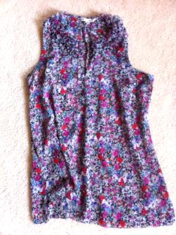 CAbi flowered Blouse - $30