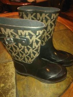 Michael Kors rain boots - $35